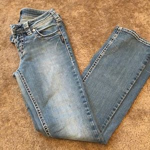 Silver Aiko bootcut light wash jeans